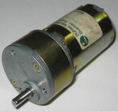 Buehler 18v 500 Rpm - Heavy Duty Gearhead Dc Motor - 70mnm - 400ma - 9.91 Gear