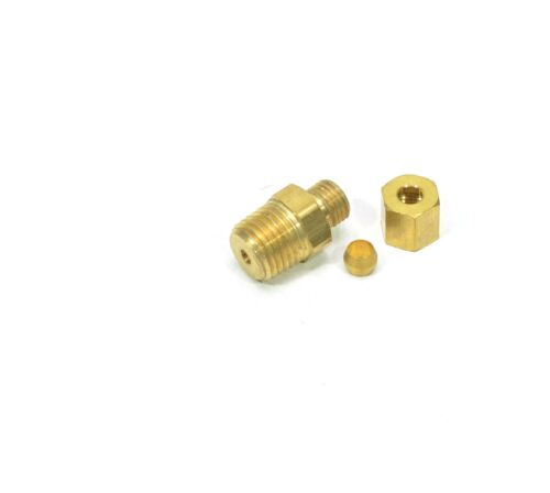 "3/16"" Tube OD Compression to 1/8"" Male NPT Fitting Adapter Connector"