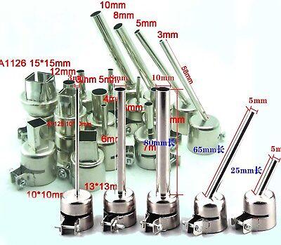 1-80pcs Nozzle 850 Heat Gun Nozzles Heat Guns Hot Air Soldering Station
