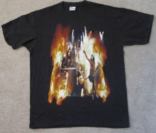 Kiss Farewell Tour concert T shirt Tucson Arizona March 12 2000 XL