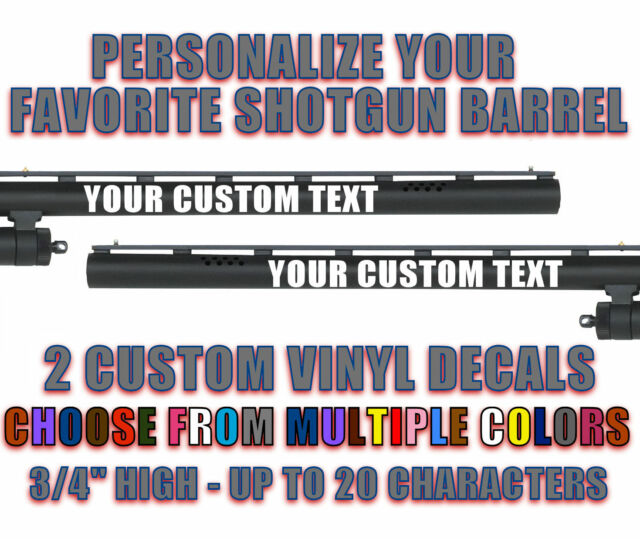 Custom Shotgun Barrel Sticker Decal Choke Tube Hunting Duck - Custom shotgun barrel stickers