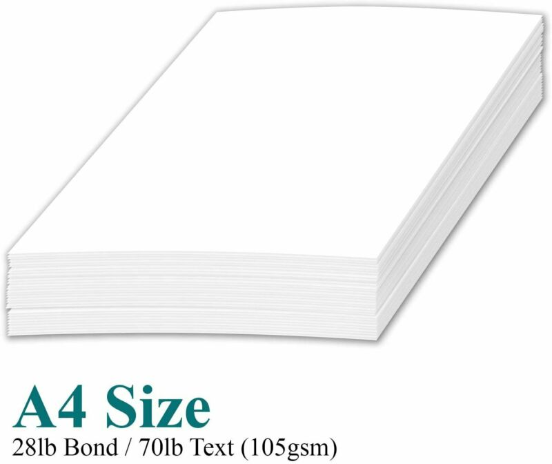 A4 Premium Bright White Paper – Great for Copy, Printing, Writing   210 x 297...