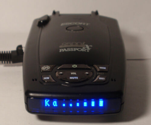 Escort Passport 9500ix intelligence Radar Detector Excellent Condition