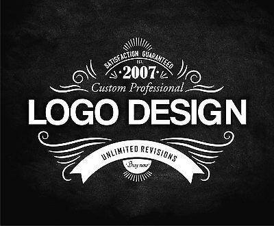 PROFESSIONAL CUSTOM LOGO DESIGN - VECTOR FILE - UNLIMITED REVISIONS