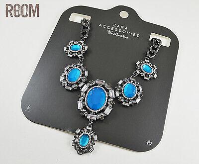 Zara Combination Blue Stone Necklace for sale  Ontario