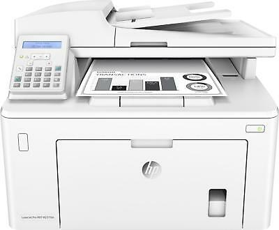 HP - LaserJet Pro MFP M227fdn Black-and-White All-In-One Laser Printer -