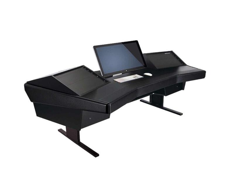 Argosy Dual 15 Workstation Desk | D15-dr800-b-b | Pro Audio La