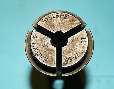 """B/&S #11 ROUND COLLET 5//32/"""" FOR AUTOMATIC SCREW MACHINES"""