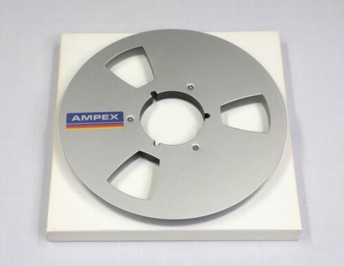 "10.5"" x 1/4""  EMPTY Precision Metal Reel in White Box - AMPEX Branded"