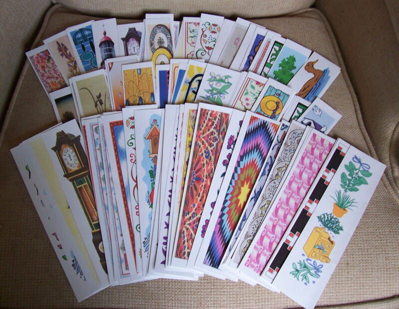 Set of 100 Bookmarks for Classroom Rewards