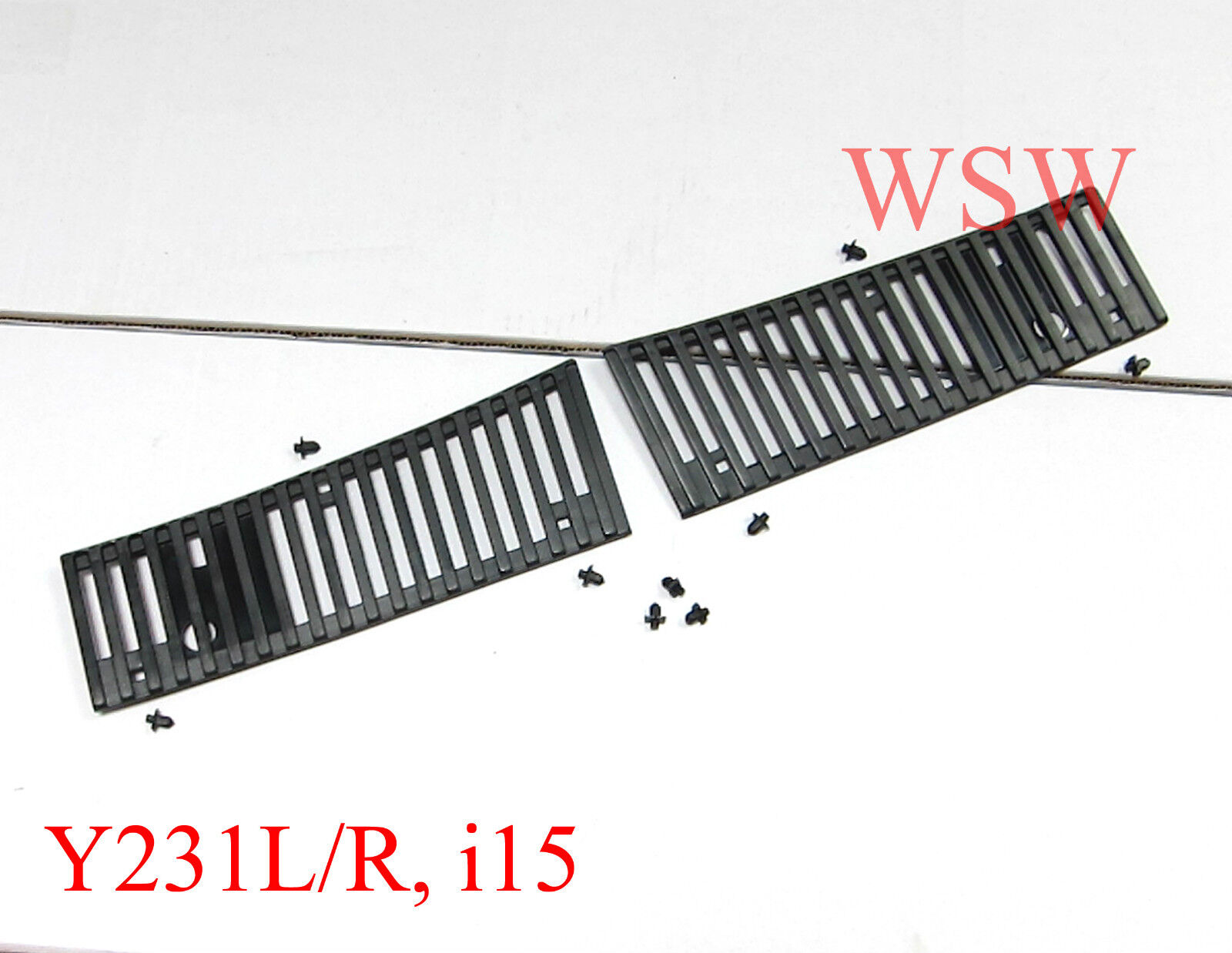Windshield wiper cowl trim panel vent fit for nissan
