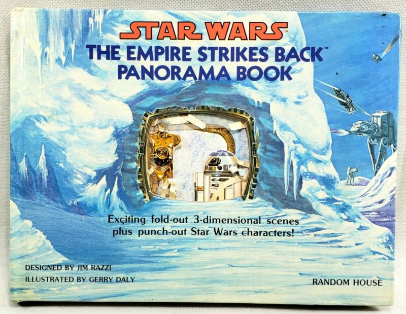 Vintage STAR WARS The Empire Strikes Back Panorama Book 1981 RARE 1st Edition HC