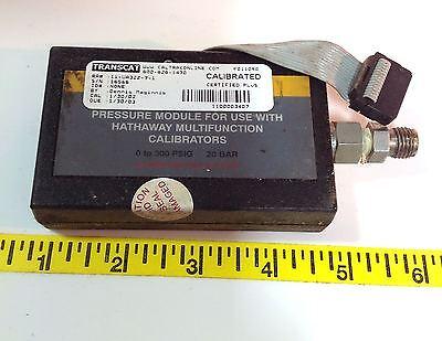 Beta Transcat Calibrator Vacuum Module 11-ua322-7-1 102527 Pzb
