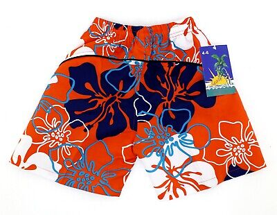 Badeshorts Badehose für Jungen + Mädchen Bermuda Shorts Schwimmhose Gr 116