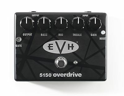 - MXR EVH5150 Eddie Van Halen Overdrive Guitar Effects Pedal!! Dunlop