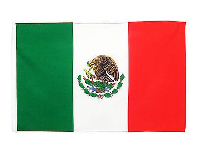 Stockflagge  Mexiko 30 x 45 cm mexikanische Flagge Nationalflagge Stockfahne