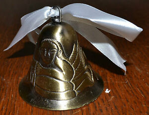 New-Angel-Bell-with-White-Ribbon-Great-Table-Decoration-Sounds-Good-Too