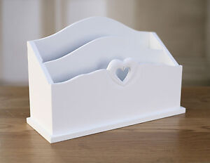 Mail Holder Heart Featured Provincial Organisation Rack Home Decor Gift 28cms