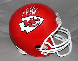Tony Gonzalez Signed/ Autographed Kansas City Chiefs FS Helmet JSA