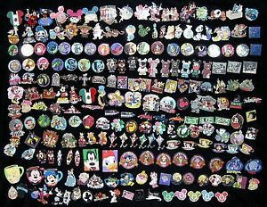 ~ 200 Disney Trading Pins with Hidden Mickey~