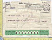 Telegramma - Pubblicità Olivetti - 1960 -  - ebay.it