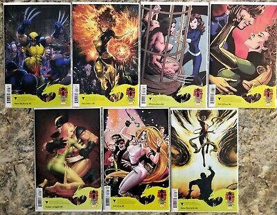 7 Dark Phoenix Saga Variant Fallen Angels Excalibur New Mutants Marauders Xforce comprar usado  Enviando para Brazil