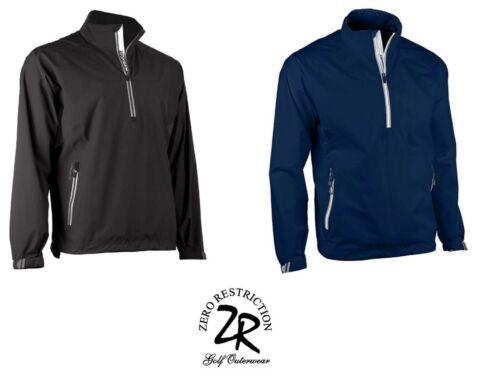Zero Restriction Mens Waterproof Power Torque 1/4 Zip Jacket Pick Size & Color