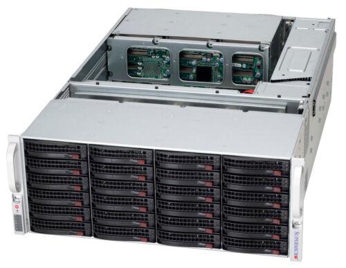 "4U Supermicro Storage Expander 3.5"" 45 Bay Server JBOD CSE-PTJBOD-CB2 Media RAIL"
