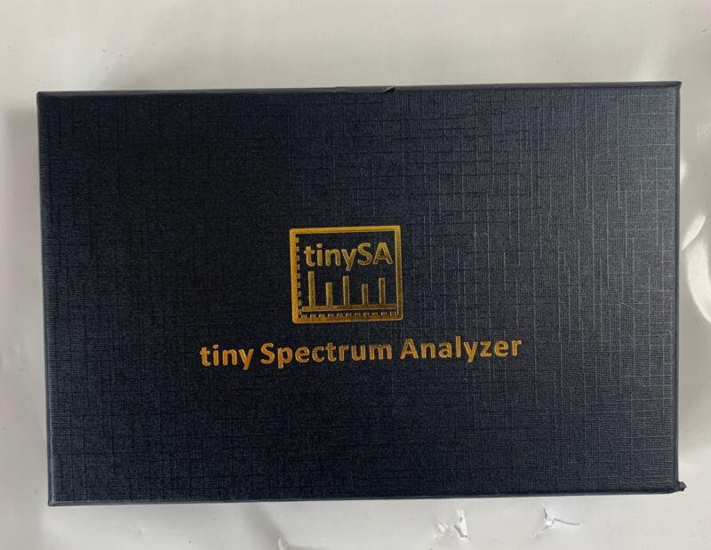 Original 2.8inch Tiny Spectrum Analyzer TinySA Screen 100khz to 960mhz