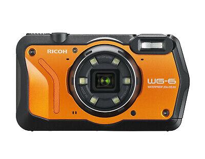Ricoh WG-6 wasserdichte Digitalkamera B-Ware vom Fachhändler WG6 orange
