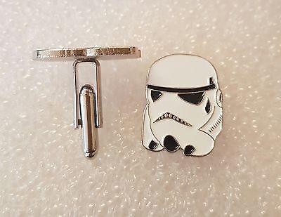 Pair of Stylish Star Wars Storm Trooper Cufflinks