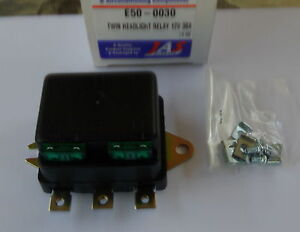SPECIAL 12Volt 30Amps  TWIN HEADLIGHT  RELAY & FUSE (NEW) FREE P/H