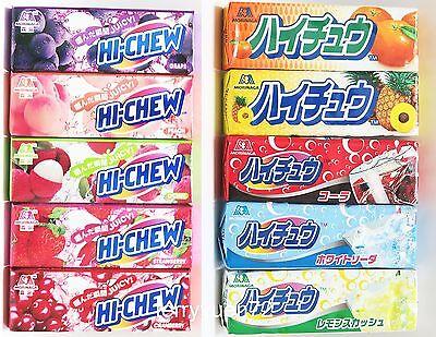 Hi Chew Candy Fruit   Drink Flavor Morinaga 1 Pack