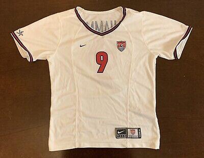 Rare Nike USA USWNT Mia Hamm 1999 Commemorative Futbol Soccer Jersey Youth L ()
