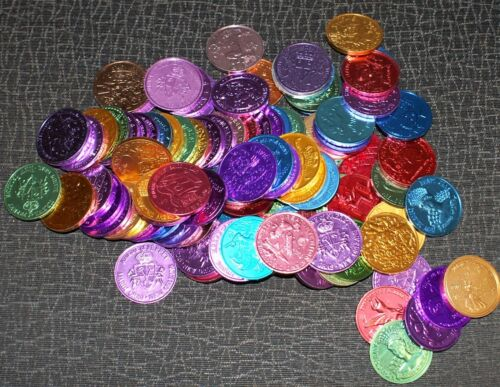 LOT OF 100 ASSORTED NEW ORLEANS MARDI GRAS PARADE 10 GAUGE DOUBLOONS 1960-2020