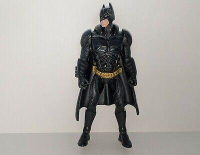 "BATMAN Dark Knight DC Comics 4"" Action Figure w/ Cape Black Costume #2"
