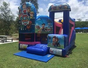 PAW PATROL 5 in 1 combo Jumping Castle $250 Full Day Hire Brisbane Region Preview