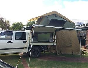 Slide on Camper complete with Roof Top Tent Echunga Mount Barker Area Preview