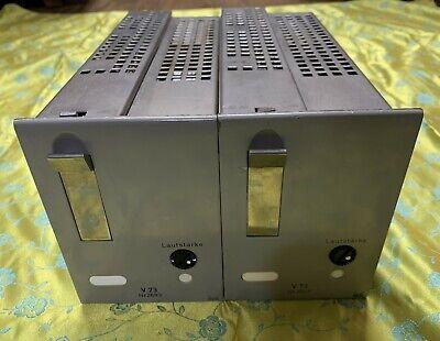 A Pair of Telefunken TAB Maihak V73  tube Power amplifier Klangfilm