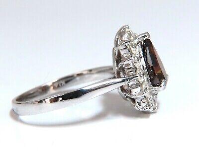 GIA Certified 1.47ct Natural Fancy Orange Brown Diamond Halo Ring  14 Karat 1