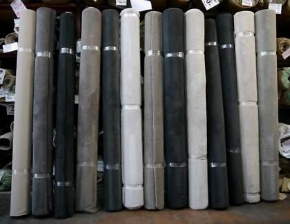 New Plain Design Overlocked Carpet Rugs Room Size 2.75 x 3.66 M