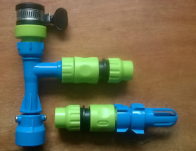 Waterbed Draining and Filling Pump Set for normal indoor tap - FREE POSTAGE