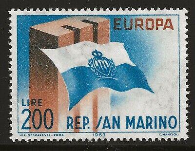 San Marino Scott #571, Single 1963 Complete Set FVF MH