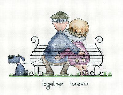 Heritage Crafts Cross Stitch Kit - Together Forever