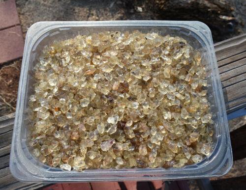 Oregon Sunstones! bright yellow specimens! tumbling/cabbing! four (4) kg parcel