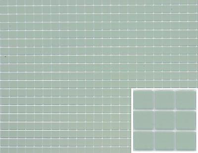 1:12 Scale Black /& White Diamond Pattern Dollhouse Tile Flooring #FF60640