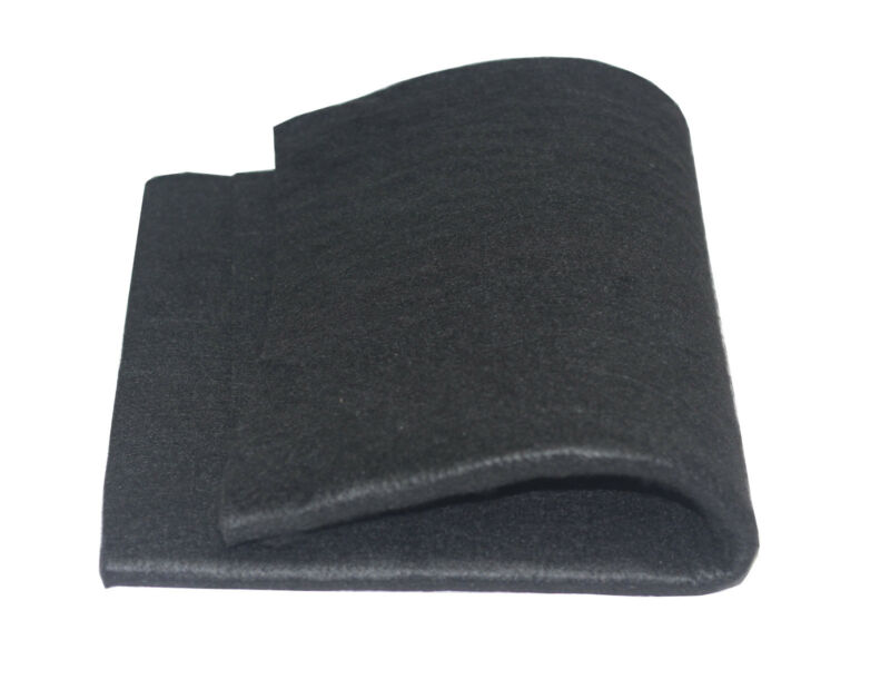 "Hiwowsport Carbon Fiber Welding Blanket Felt Black 24"" x 19"" x 1/4"" High Temp"