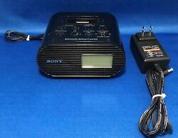 Sony ICF-C05iP Alarm Clock FM Radio and Charging Dock for iPod iPhone Black 30