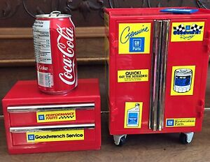 Vintage Toy tool chests Funrise