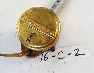 Synchron 630 Timing Clock Motor 110v 60cy 4w 120rpm